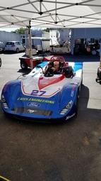 SRF race car